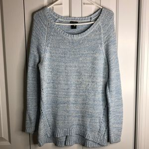 3/$15 New direction size XL blue white sweater EUC